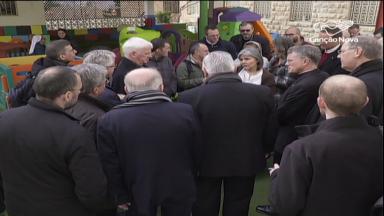 Bispos europeus e norte-americanos visitam obras de caridade da Igreja