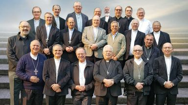 Bispos da Regional Sul 2 da CNBB realizam visita Ad Limina