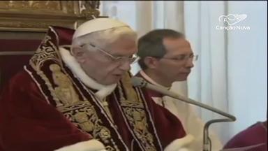 Há 7 anos, Bento XVI anunciava ao mundo sua renúncia ao papado