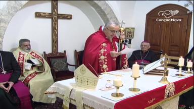 Igreja Maronita na Terra Santa celebra a vida de São Maron