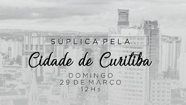 Igrejas católicas em Curitiba soarão os sinos em sinal de fé e esperança