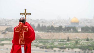 Terra Santa: palestinos e israelenses em colaboração contra o Covid-19
