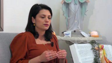 Em Nazaré, mulher afirma que fé e bom senso a salvaram da Covid-19
