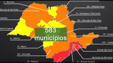 Governo paulista pretende reabrir o comércio em mais de 500 cidades