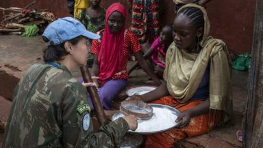 Dia Internacional dos Boinas-Azuis da ONU é dedicado às mulheres