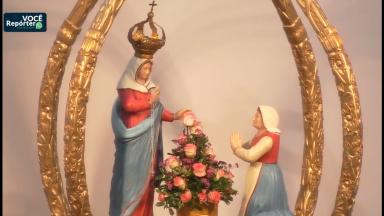 Fiéis se preparam para a festa de Nossa Senhora de Caravaggio