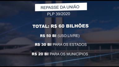 Bolsonaro aprova decreto de ajuda aos estados e municípios