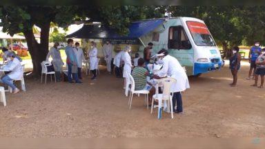 No sertão sergipano, tribo recebe equipe para análise de pandemia