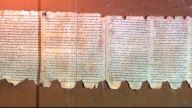 Universidade de Israel analisa os 'manuscritos de Qunram'
