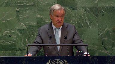Em Assembleia, secretário-geral da ONU pede cessar fogo na pandemia