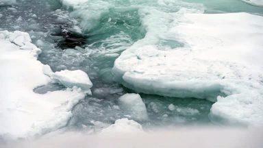 Gelo do mar Ártico sofre perda e encolhe para nível mais baixo da história