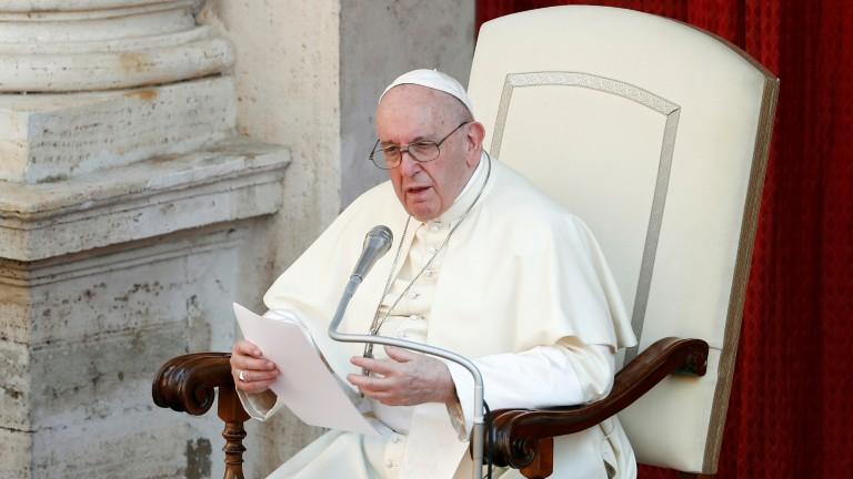 papa francisco na audiência geral