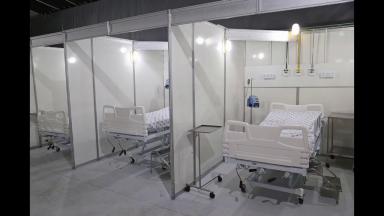 Sergipe inicia a desativação de hospital de campanha em Aracaju