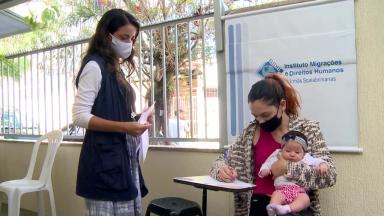 Entidades filantrópicas ajudam no acolhimento de refugiados na pandemia
