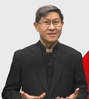 Cardeal Luis Antonio Tagle pequena Dia do Refugiado: cardeal Tagle enfatiza o fim do tráfico humano