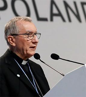 Cardeal Pietro Parolin Parolin, a cultura do encontro para ir além da emergência