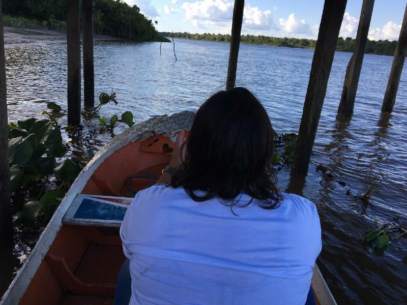 Irmã Sueli na Ilha de Marajó / Foto: Arquivo Pessoal
