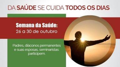 CNBB promove semana da saúde para sacerdotes e diáconos