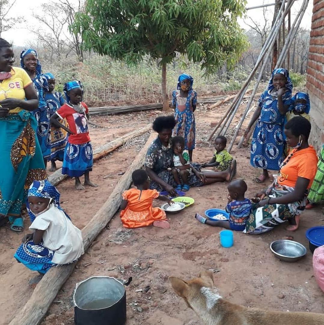 Comunidade São Marcos de Dwembe / Foto: Arquivo Pessoal