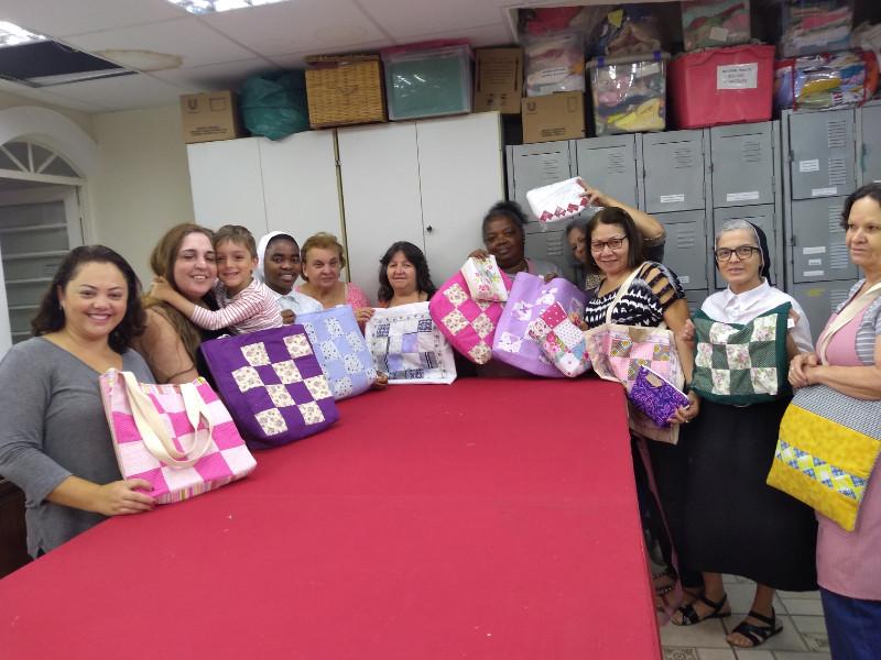 Em São Paulo, a Apam oferece cursos para mulheres em situação de vulnerabilidade / Foto: Arquivo Pessoal