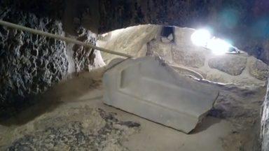 Túmulo de Lázaro passa por restauração e fica mais acessível aos fiéis