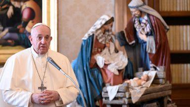 Papa agradece orações e felicitações recebidas no Natal