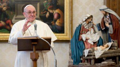Com a gratidão, transmitimos esperança ao mundo, afirma Papa