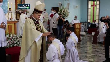 Diocese de Leopoldina, em MG, ordena dois novos padres