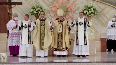 Canção Nova ganha dois diáconos e um novo padre no fim de semana