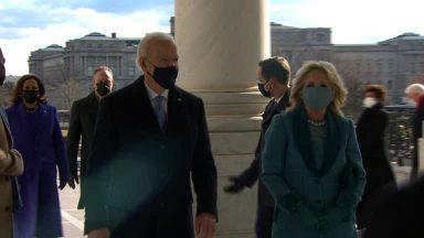 Joe Biden toma posse e se torna o 46º presidente dos Estados Unidos