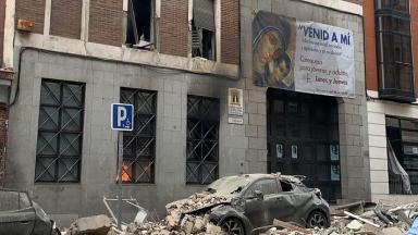 Explosão em prédio de uma igreja em Madri deixa mortos e feridos