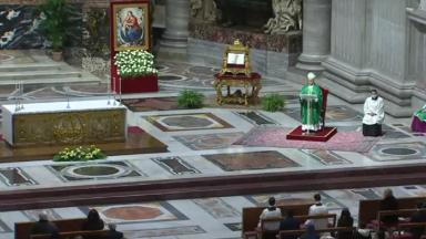 Homilia do Papa: