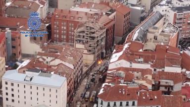 Explosão em Madri provoca a morte de 3 pessoas