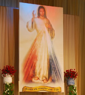 imagem de Jesus Misericordioso santa faustina