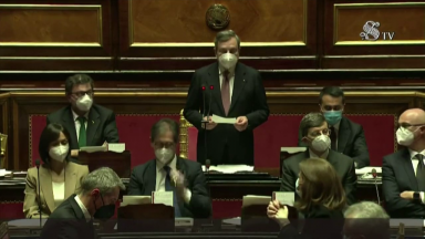 Senado italiano dá voto de confiança ao novo primeiro-ministro