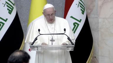 Iraque: diferenças não devem gerar conflitos, mas cooperação, diz Papa às autoridades