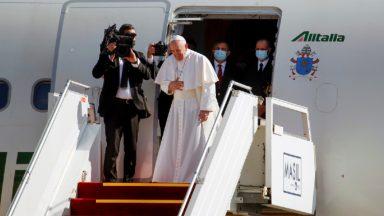 Chega ao fim viagem histórica do Papa Francisco ao Iraque