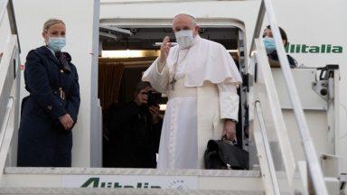 Papa inicia viagem ao Iraque como mensageiro da paz