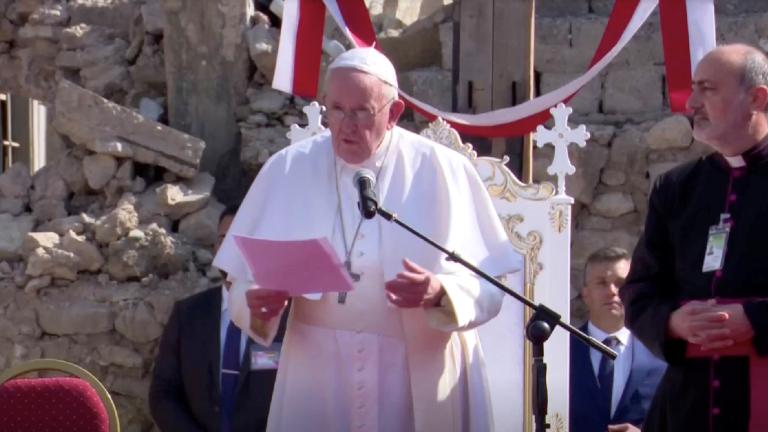 Papa em Mossul