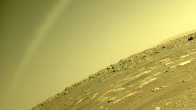 """Pesquisadores explicam """"arco-íris em Marte"""", captado pela Nasa"""