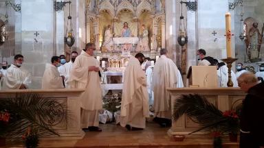 Franciscanos da Terra Santa celebram a aparição de Cristo em Emaús