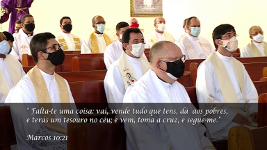 Padres da Arquidiocese de Aracaju renovam as promessas sacerdotais