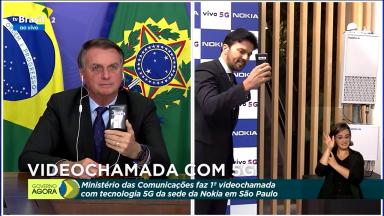 Brasil realiza teste e faz a primeira videochamada usando o 5G no país
