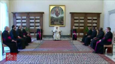 Na Catequese, Papa Francisco comenta sobre a oração vocal