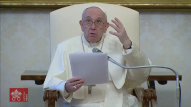 Papa afirma na catequese que meditar é encontrar Jesus e se encontrar
