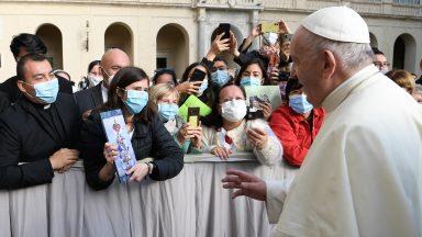 A partir de 12 de maio, Audiência Geral com o Papa terá presença de fiéis