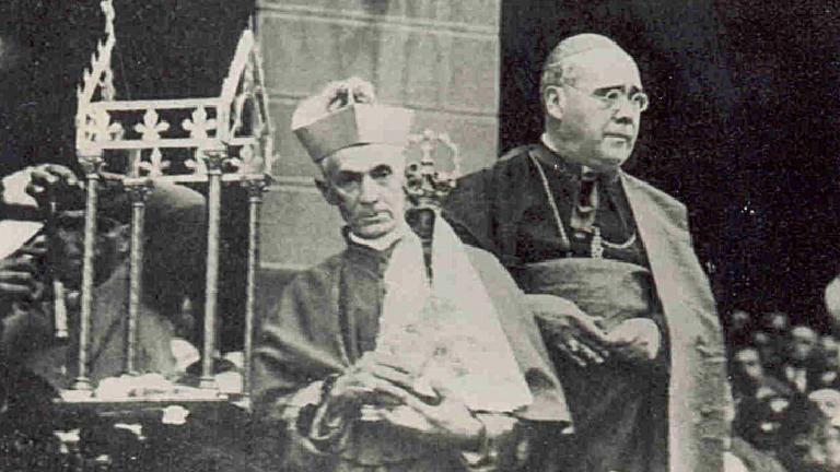 imagem de aparecida no rj 1931 Acervo CDM Santuário Nacional Há 90 anos, Brasil ganhava padroeira: Nossa Senhora Aparecida