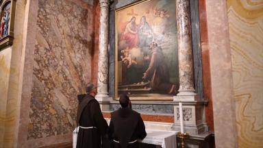 Franciscanos da Terra Santa são devotos de Nossa Senhora
