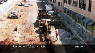 Setor da construção civil reduz estimativa de crescimento para este ano
