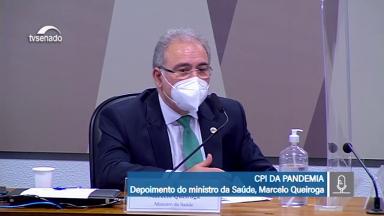 Marcelo Queiroga pode ser convocado novamente pela CPI da Covid-19